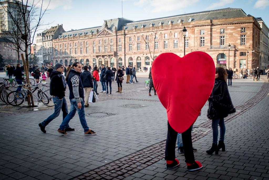Valentinstag in Straßburg