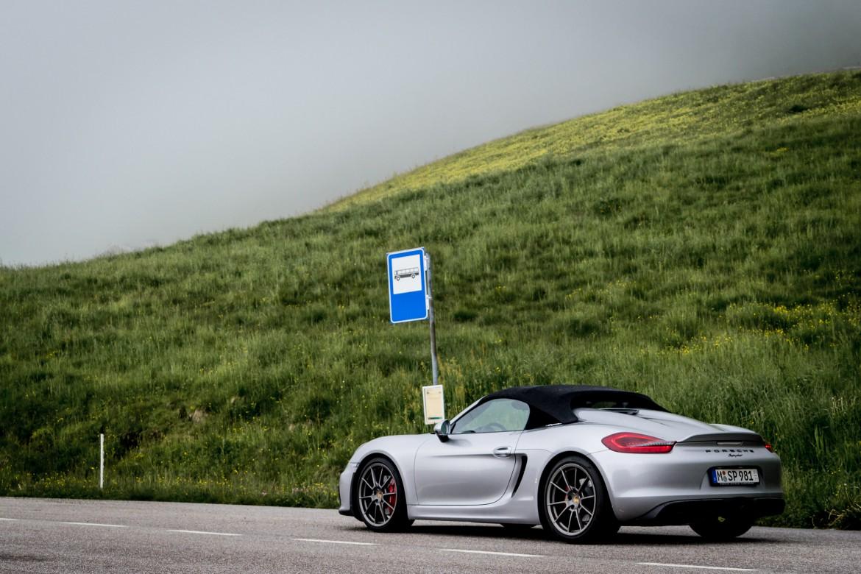 Porsche Spyder Alpenausfahrt